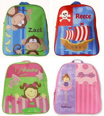 Personalized Backpacks - Part 1