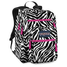 Zebra Big Student Backpack